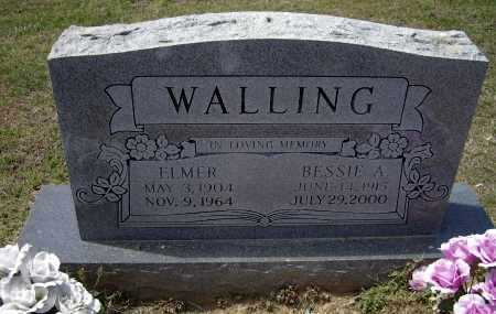 "WALLING, ELMER ""PREACHER"" - Lawrence County, Arkansas 
