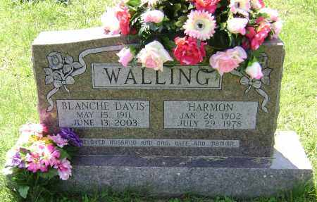 WALLING, HARMON - Lawrence County, Arkansas | HARMON WALLING - Arkansas Gravestone Photos
