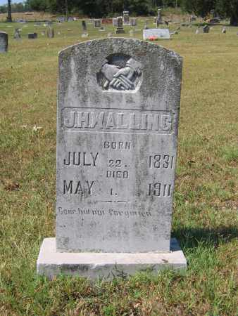 WALLING (VETERAN CSA), JOSEPH H. - Lawrence County, Arkansas | JOSEPH H. WALLING (VETERAN CSA) - Arkansas Gravestone Photos