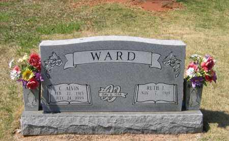 WARD, CHARLES ALVIN - Lawrence County, Arkansas | CHARLES ALVIN WARD - Arkansas Gravestone Photos