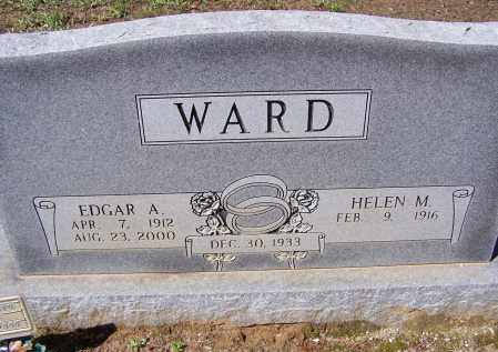 WARD, EDGAR ALFRED - Lawrence County, Arkansas | EDGAR ALFRED WARD - Arkansas Gravestone Photos