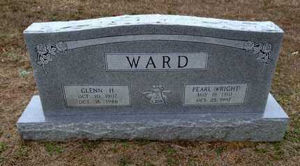 WRIGHT WARD, PEARL D. - Lawrence County, Arkansas | PEARL D. WRIGHT WARD - Arkansas Gravestone Photos