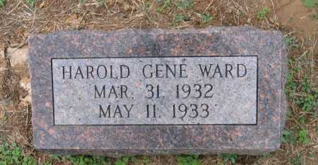 WARD, HAROLD GENE - Lawrence County, Arkansas | HAROLD GENE WARD - Arkansas Gravestone Photos