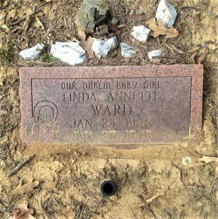 WARD, LINDA ANNETTE - Lawrence County, Arkansas   LINDA ANNETTE WARD - Arkansas Gravestone Photos