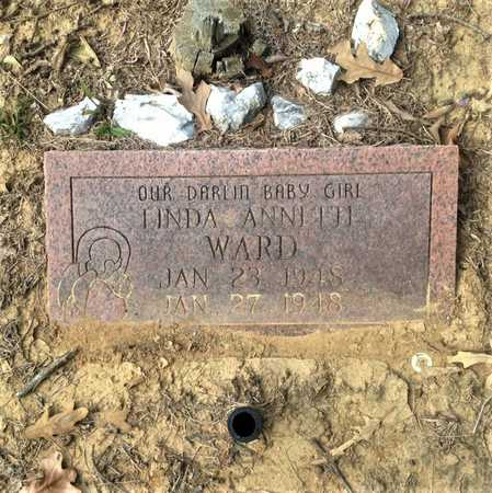 WARD, LINDA ANNETTE - Lawrence County, Arkansas | LINDA ANNETTE WARD - Arkansas Gravestone Photos