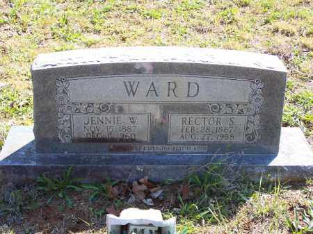 WARD, RECTOR S. - Lawrence County, Arkansas | RECTOR S. WARD - Arkansas Gravestone Photos