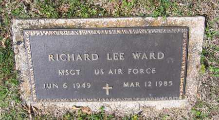 WARD (VETERAN), RICHARD LEE - Lawrence County, Arkansas | RICHARD LEE WARD (VETERAN) - Arkansas Gravestone Photos