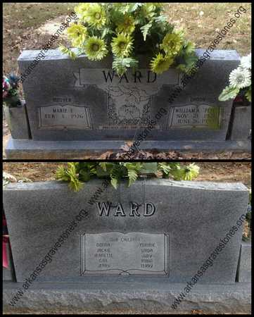 """WARD, WILLIAM AUGUSTA """"PETE"""" - Lawrence County, Arkansas 