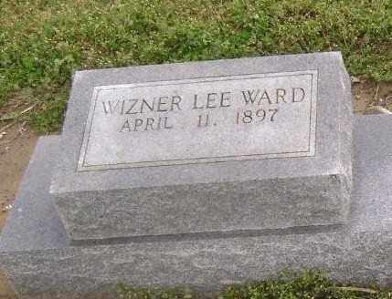 WARD, WIZNER LEE - Lawrence County, Arkansas | WIZNER LEE WARD - Arkansas Gravestone Photos