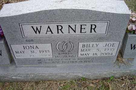 WARNER, IONA - Lawrence County, Arkansas | IONA WARNER - Arkansas Gravestone Photos