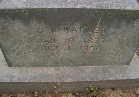 WARNER, C. M. - Lawrence County, Arkansas | C. M. WARNER - Arkansas Gravestone Photos