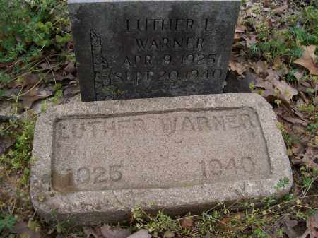 WARNER, LUTHER L. - Lawrence County, Arkansas | LUTHER L. WARNER - Arkansas Gravestone Photos