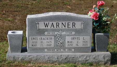 HACKER WARNER, ENIS MARIE - Lawrence County, Arkansas | ENIS MARIE HACKER WARNER - Arkansas Gravestone Photos