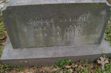 WARNER, SAMMIE - Lawrence County, Arkansas | SAMMIE WARNER - Arkansas Gravestone Photos