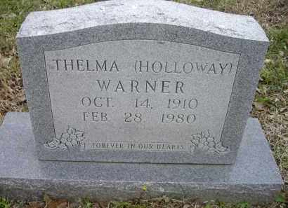 WARNER, THELMA - Lawrence County, Arkansas | THELMA WARNER - Arkansas Gravestone Photos
