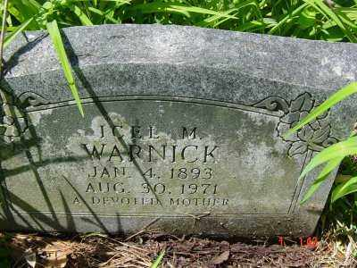 WARNICK, ICEL MAY - Lawrence County, Arkansas | ICEL MAY WARNICK - Arkansas Gravestone Photos