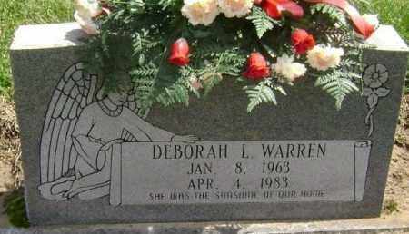 WARREN, DEBORAH L. - Lawrence County, Arkansas | DEBORAH L. WARREN - Arkansas Gravestone Photos