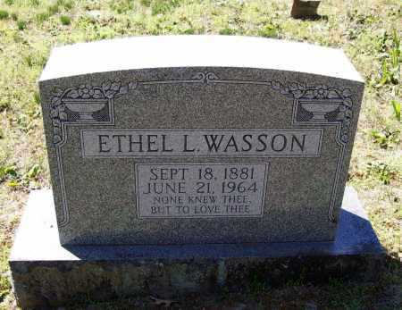 WASSON, ETHEL L. - Lawrence County, Arkansas | ETHEL L. WASSON - Arkansas Gravestone Photos
