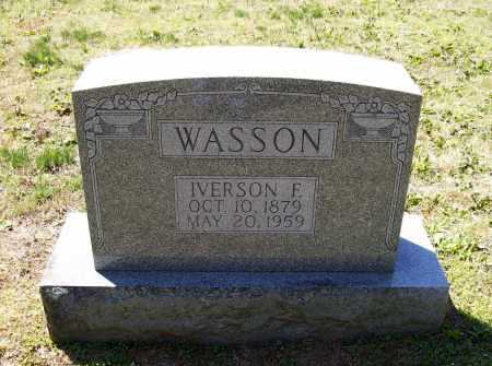 "WASSON, IVERSON FREDRICK ""PETE"" - Lawrence County, Arkansas 