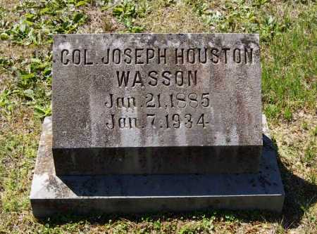 WASSON, JOSEPH HOUSTON - Lawrence County, Arkansas | JOSEPH HOUSTON WASSON - Arkansas Gravestone Photos