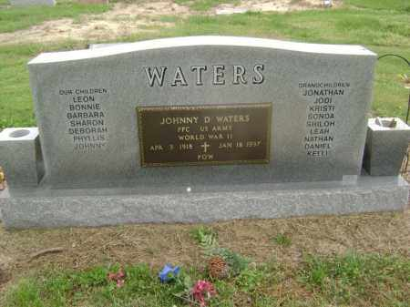 WATERS  (VETERAN WWII, POW), JOHNNY D. - Lawrence County, Arkansas | JOHNNY D. WATERS  (VETERAN WWII, POW) - Arkansas Gravestone Photos