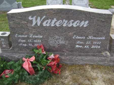 WATERSON, ELMER KENNETH - Lawrence County, Arkansas | ELMER KENNETH WATERSON - Arkansas Gravestone Photos
