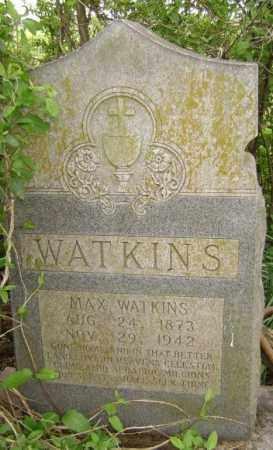 WATKINS, MAX - Lawrence County, Arkansas | MAX WATKINS - Arkansas Gravestone Photos