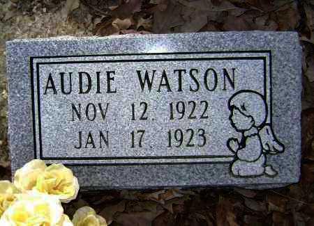 WATSON, AUDIE - Lawrence County, Arkansas | AUDIE WATSON - Arkansas Gravestone Photos