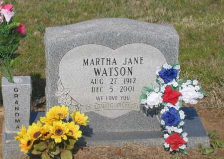 WATSON, MARTHA JANE - Lawrence County, Arkansas | MARTHA JANE WATSON - Arkansas Gravestone Photos