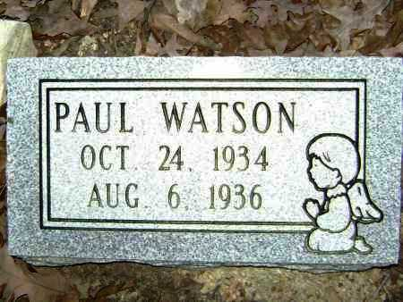 WATSON, PAUL - Lawrence County, Arkansas | PAUL WATSON - Arkansas Gravestone Photos