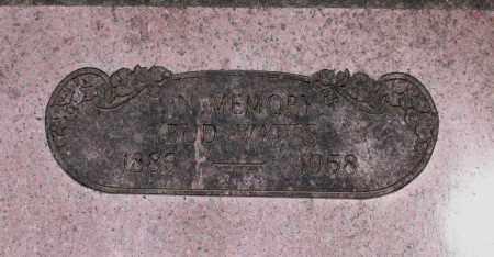 "WATTS, BERNONIA ""BUD"" - Lawrence County, Arkansas | BERNONIA ""BUD"" WATTS - Arkansas Gravestone Photos"