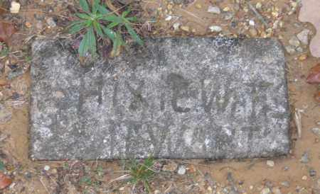 "STUART, WILLIE HICKSEY ""HIXIE"" - Lawrence County, Arkansas 