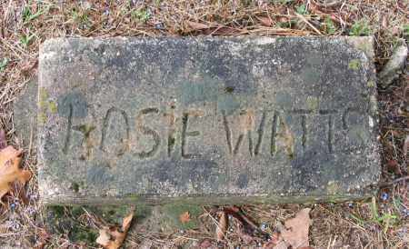 WATTS, HOSIE - Lawrence County, Arkansas | HOSIE WATTS - Arkansas Gravestone Photos