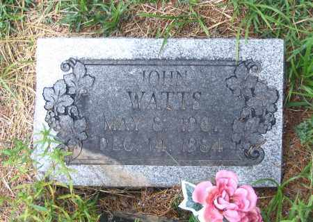 WATTS, JOHN - Lawrence County, Arkansas | JOHN WATTS - Arkansas Gravestone Photos