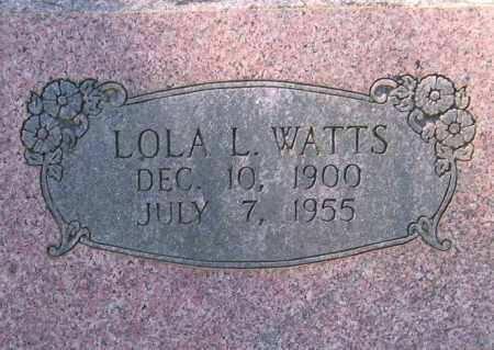 WATTS, LOLA L. HOLDER - Lawrence County, Arkansas | LOLA L. HOLDER WATTS - Arkansas Gravestone Photos