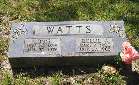 WATTS, DOLLIE ANN - Lawrence County, Arkansas | DOLLIE ANN WATTS - Arkansas Gravestone Photos