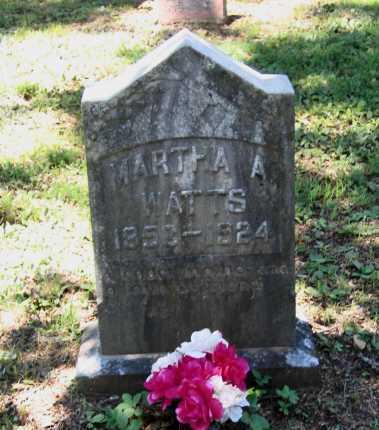WATTS, MARTHA ANN STUART BALL - Lawrence County, Arkansas | MARTHA ANN STUART BALL WATTS - Arkansas Gravestone Photos
