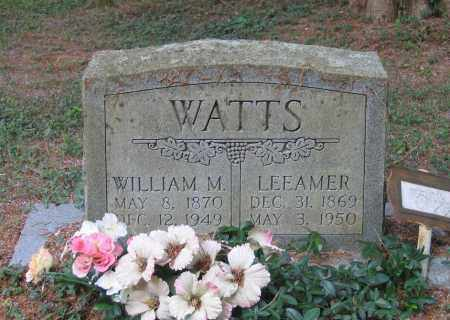 WATTS, WILLIAM MARVIN - Lawrence County, Arkansas | WILLIAM MARVIN WATTS - Arkansas Gravestone Photos