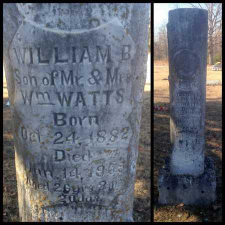WATTS, WILLIAM BENNETT - Lawrence County, Arkansas | WILLIAM BENNETT WATTS - Arkansas Gravestone Photos
