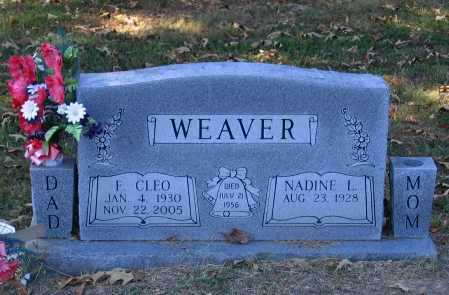 WEAVER, FRED CLEO - Lawrence County, Arkansas | FRED CLEO WEAVER - Arkansas Gravestone Photos