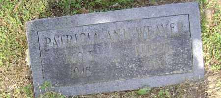 WEAVER, PATRICIA - Lawrence County, Arkansas | PATRICIA WEAVER - Arkansas Gravestone Photos