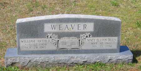 DILES WEAVER, MACY ELLIAN - Lawrence County, Arkansas | MACY ELLIAN DILES WEAVER - Arkansas Gravestone Photos