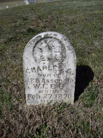 WEBB, CHARLES G. - Lawrence County, Arkansas | CHARLES G. WEBB - Arkansas Gravestone Photos