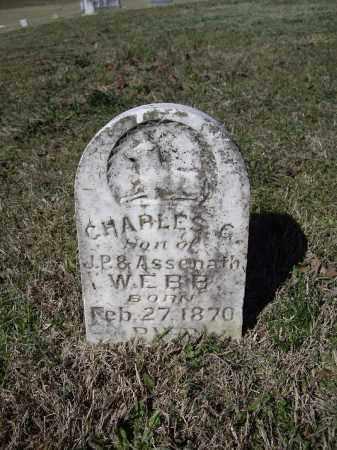 WEBB, CHARLES G. - Lawrence County, Arkansas   CHARLES G. WEBB - Arkansas Gravestone Photos