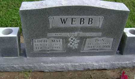 MCINTIRE WEBB, EDDIE MAE - Lawrence County, Arkansas | EDDIE MAE MCINTIRE WEBB - Arkansas Gravestone Photos