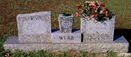 WEBB, EVERARD ALPHAEUS - Lawrence County, Arkansas | EVERARD ALPHAEUS WEBB - Arkansas Gravestone Photos