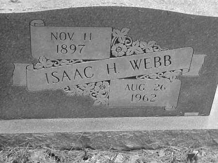 WEBB, ISAAC HENDERSON - Lawrence County, Arkansas | ISAAC HENDERSON WEBB - Arkansas Gravestone Photos