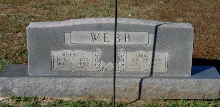 HARRIS WEBB, LUDA ALMA - Lawrence County, Arkansas | LUDA ALMA HARRIS WEBB - Arkansas Gravestone Photos