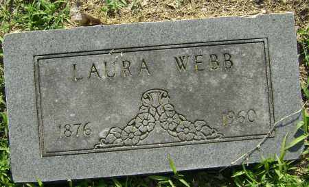 WEBB, LAURA - Lawrence County, Arkansas | LAURA WEBB - Arkansas Gravestone Photos