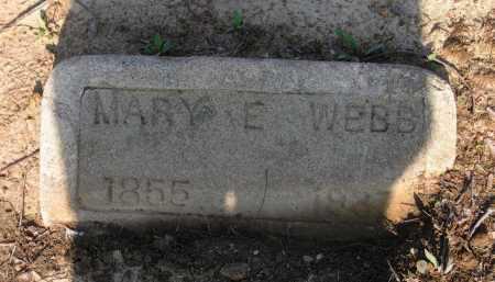 WEBB, MARY E. - Lawrence County, Arkansas   MARY E. WEBB - Arkansas Gravestone Photos